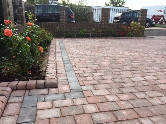 Challock block paving driveways