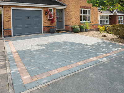 block paving driveway repairs in Loose