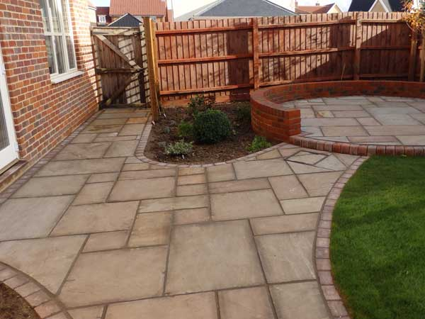 Stone Patios made from Natural Stone
